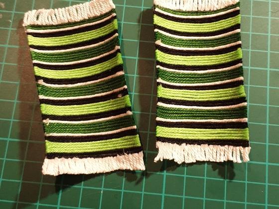 Mexican Blankets / Sarape selbstgeklöppelt