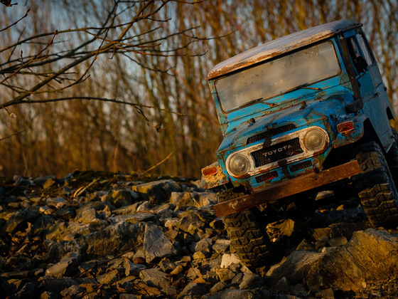 Mein neuer (fast fertiger) RC4WD FJ40