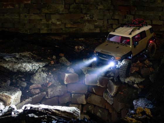 HPI Venture exploring a haunted cellar