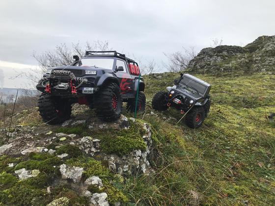 Zweiter Tag am Berg