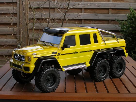 TRX-6 - The yellow Python