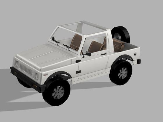 SJ 410 - 3D Druck