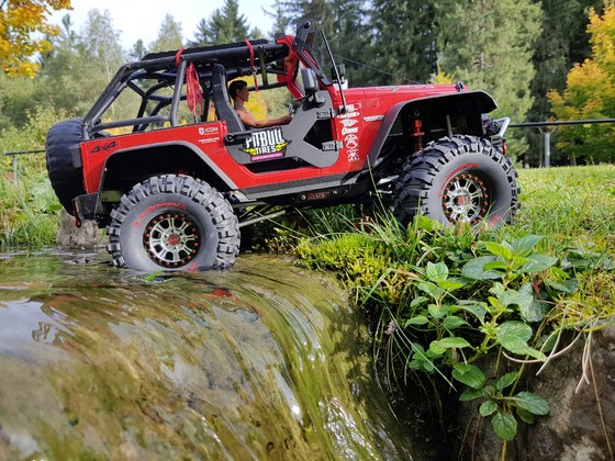 Jeep Wrangler Hardbody auf MST/Axial Mix