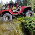 Jeep Wrangler Hardbody auf MST/Axial Mix