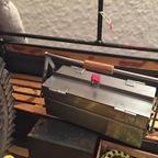 ABUS hat das Vorhängeschloss für den Werkzeugkasten geliefert ;-)