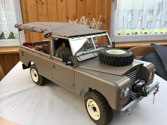 Land Rover Serie III 109 LWB