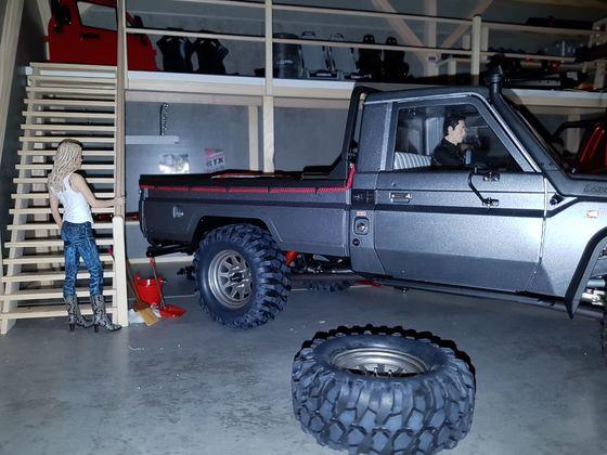 Buster' Toyota LC70...mission accomplished! Bilder aus der Garage