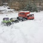 Gruppenfoto - Schnee war's ;-)