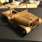 CJ 5 - 3D Druck - Testdruck 1:40 2/3
