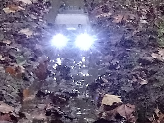 Crawler Ausfahrt und und Sammlung
