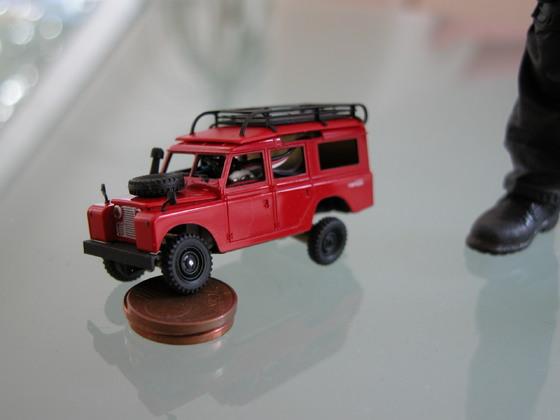 Land Rover 109, Verschränkung
