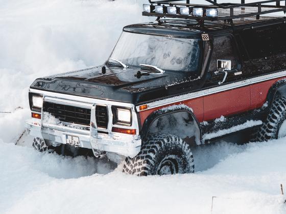 Start in den Schnee