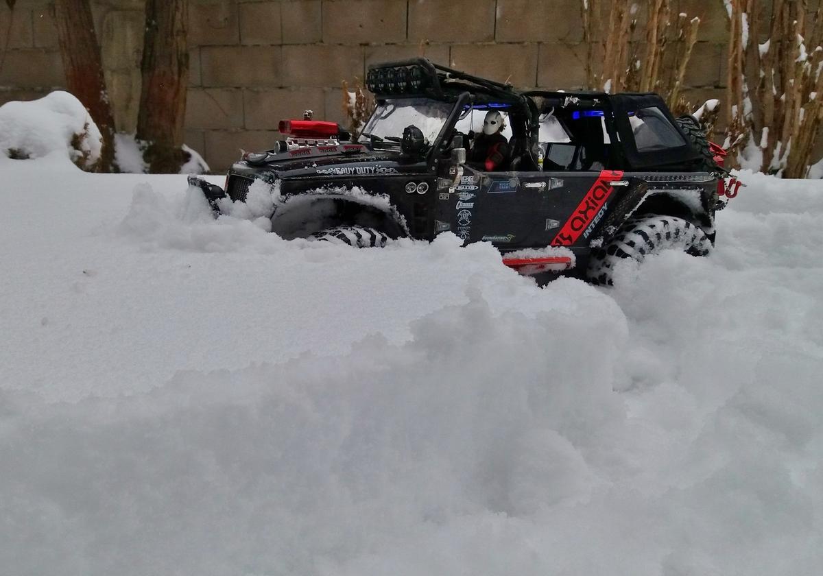 Ende im Gelände (bzw. Schnee)