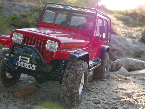 Winterausfahrt mit dem Jeep YJ