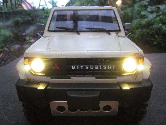 Mitsubishi Pajero L040 Flatbed