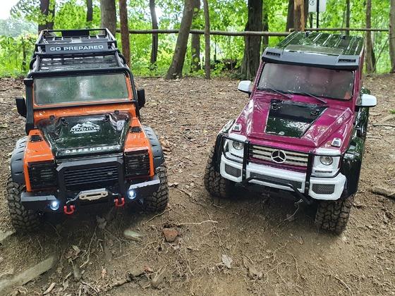 TRX4 Defender und G500