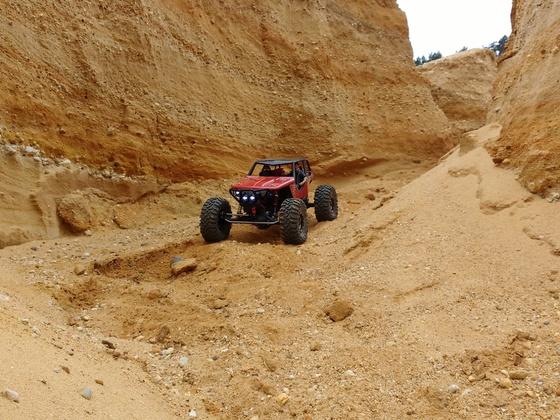 Red Urban Wraith in der Sand Pit