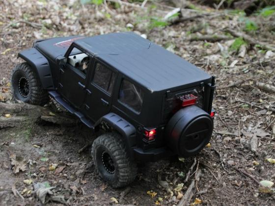 Jeep JK 4 door: erste Testfahrt