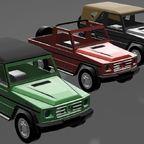 Projekt G Klasse  SWB alle Modelle - 3D Druck - 1