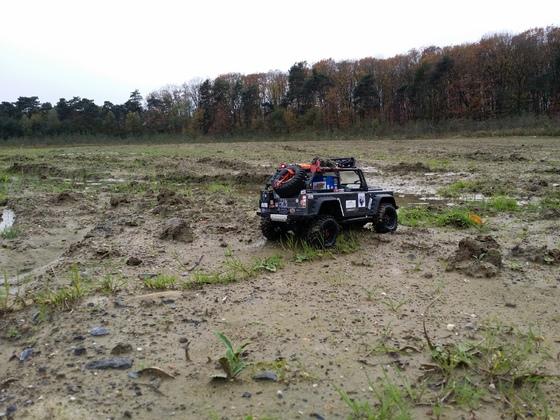 Muddy Halloween