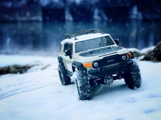 Mit dem HPI Venture im Schnee