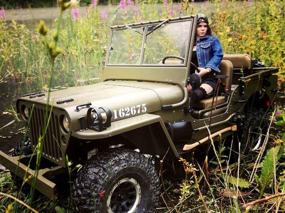 Tabeas Jeep auf Zollverein