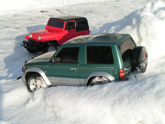 XCs im Schnee