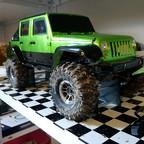 Buster's TRX-4 mit New Bright Jeep Wrangler JK 4 door (The next step)