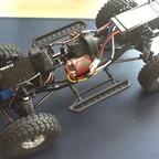 SCX Rubicon Kit 02 - nun Akku vorne und wasserdichte Regler- und UBEC-Box im Heck
