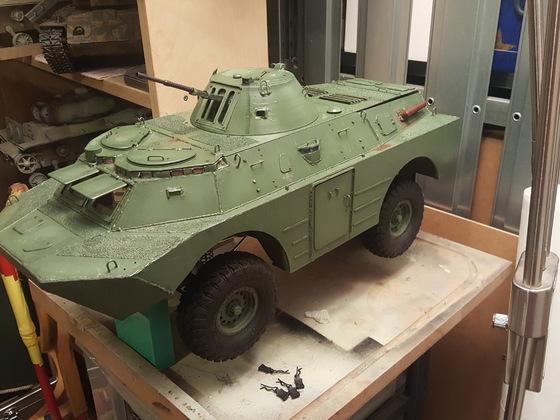 BRDM-2M auf Basis SCX10 II