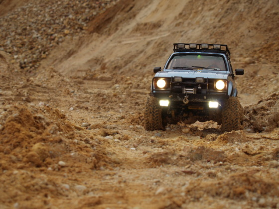 Hilux Doppelkabine RC4WD Mojave LWB