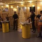Weihnachtsfeier in Mickie und Sam's Schrauberbude ... ;-)