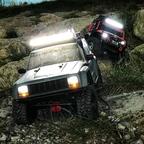 Kleine Nachtausfahrt mit den Jeeps