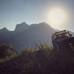 Mit dem SCX 10 II Jeep XJ auf dem Monte Brione
