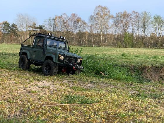 D90 Pickup im Feld