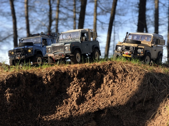 Made in Solihull / Legends never die  •••• Modelex D110 •• RC4WD D90 G II •• Modelex D90