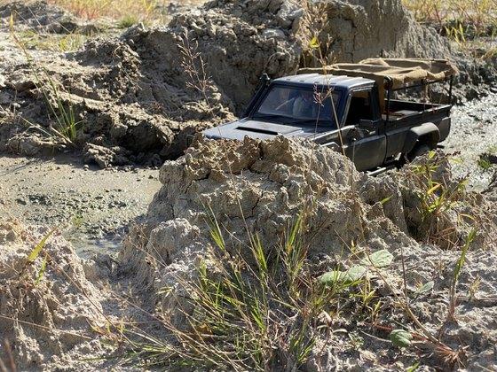 The Muddy creek