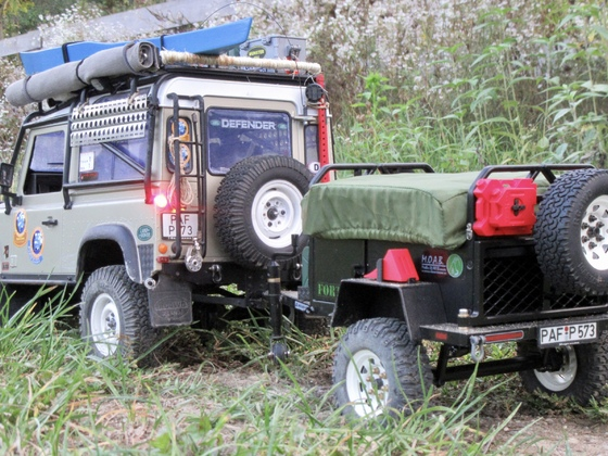 Defender on Tour