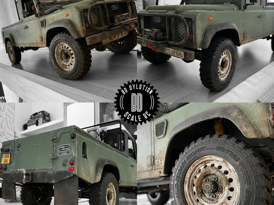 RC4WD Land Rover Defender PU