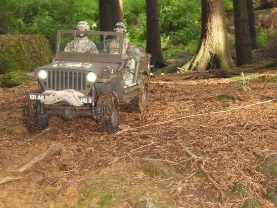 IRONMANs Willys MB