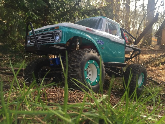 "1966' FORD F 150 TRUGGY  in "" Floridas Everglades """