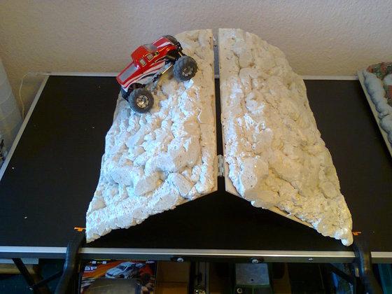 Flexibler Teil Indoor-Micro-Strecke ( im Bau )