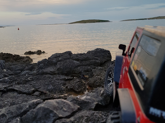 Jeep in Kroatien 2018