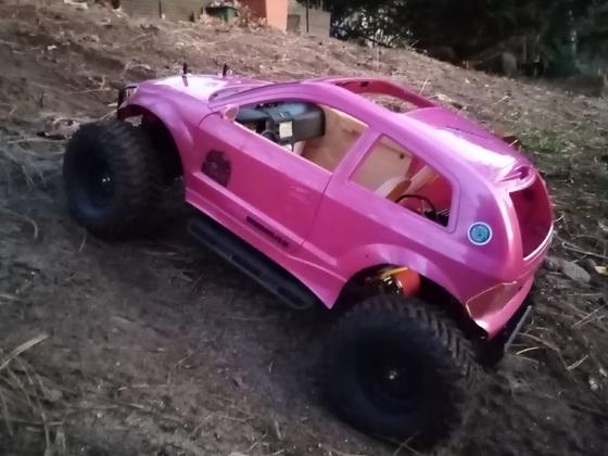 Pinky, der Crawler auf TL-01 Basis