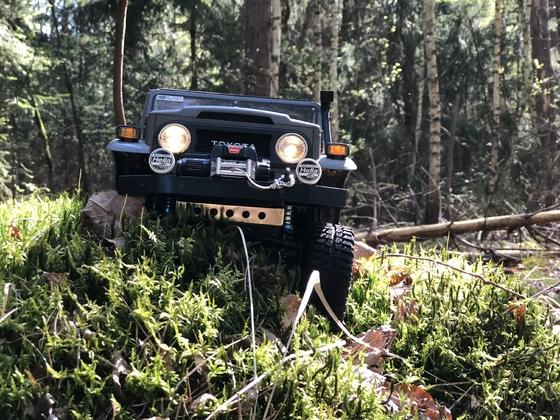 FJ Cruiser im Wald