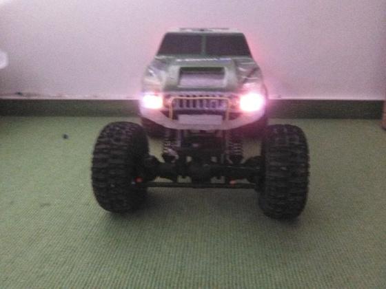 Neue Lichtanlage für meinen Kumpel auf Rädern