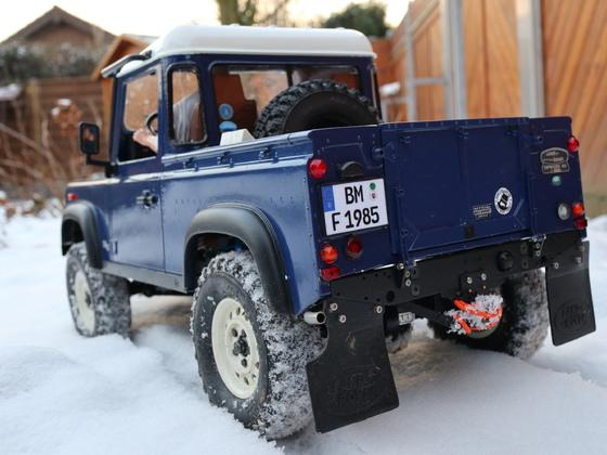 D90 im Schnee