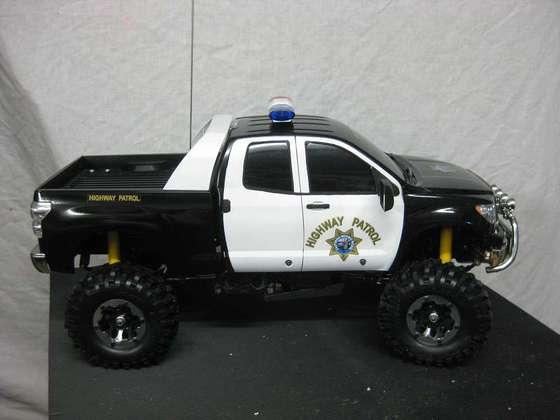 T-Toyota Tundra Police