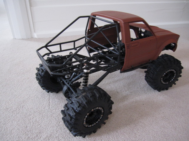 Hilux Truggy On Rc4wd Boyer Chassis Rockcrawlerde