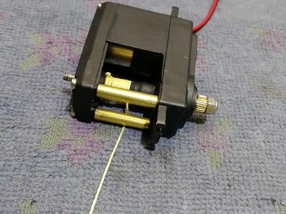 Servo Heckwinde LC70 / scx10. 2